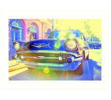 Atomic Bel Air... Art Print