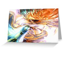 New Beginnings Abstract Greeting Card