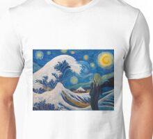 Hokusai, munch or van gogh? Unisex T-Shirt