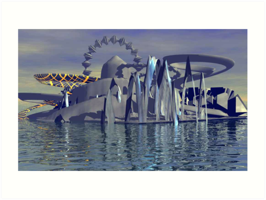 Ocean City Rising by MaeBelle