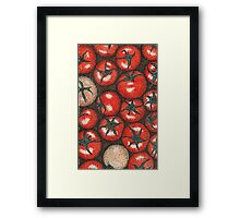 Tomatoes point Framed Print