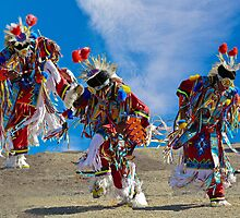 Grass Dancer Trio by Linda Sparks