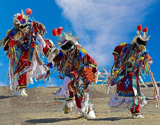 Grass Dancer Trio by Linda Sparks