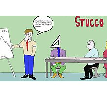 Stucco Corporation Photographic Print