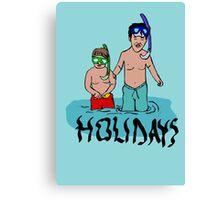 Holidays kids Canvas Print