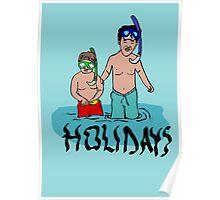 Holidays kids Poster