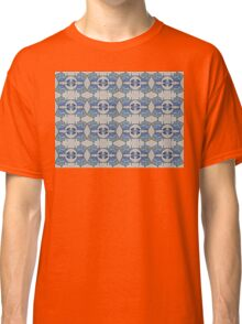 Fish and man o' war motif Classic T-Shirt