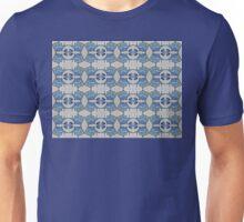 Fish and man o' war motif Unisex T-Shirt