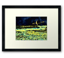 An Inner Glow - A Collaboration Framed Print