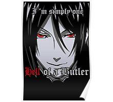 Black Butler Funny TShirt Epic T-shirt Humor Tees Cool Tee Poster