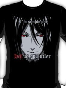 Black Butler Funny TShirt Epic T-shirt Humor Tees Cool Tee T-Shirt
