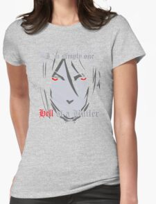 Black Butler Funny TShirt Epic T-shirt Humor Tees Cool Tee Womens Fitted T-Shirt