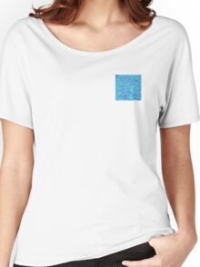 clear blue water Women's Relaxed Fit T-Shirt