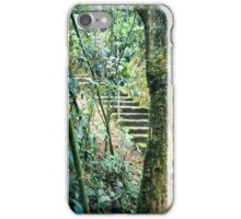 Amazon Jungle Stairs iPhone Case/Skin