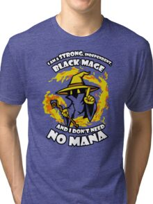Black Mage Funny TShirt Epic T-shirt Humor Tees Cool Tee Tri-blend T-Shirt
