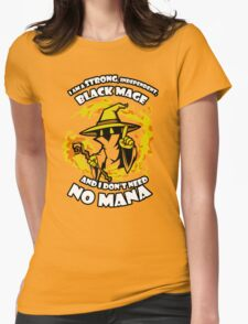 Black Mage Funny TShirt Epic T-shirt Humor Tees Cool Tee Womens Fitted T-Shirt