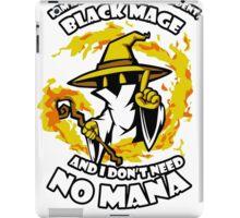 Black Mage Funny TShirt Epic T-shirt Humor Tees Cool Tee iPad Case/Skin