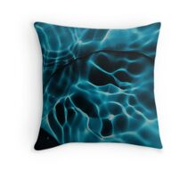 water abstract H2O # 40 Throw Pillow