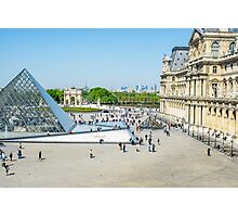 Louvre From Above Photographic Print