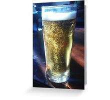 Mine's a pint! Greeting Card