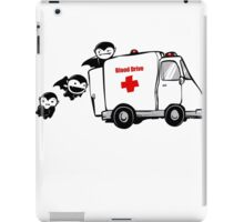Blood Drive Vampires Funny TShirt Epic T-shirt Humor Tees Cool Tee iPad Case/Skin