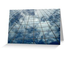 Mirrored Clouds Greeting Card
