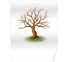 Wedding Guest Signature Tree Memento Poster