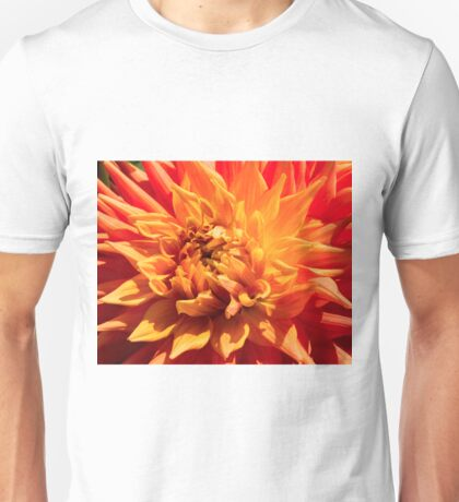 Dahlia Display Unisex T-Shirt