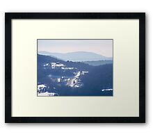 The Catskill Mountains Framed Print