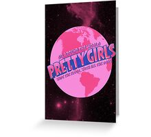 All Around The World - Pretty Girls  Greeting Card