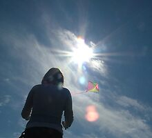Kite flier by weecoughimages