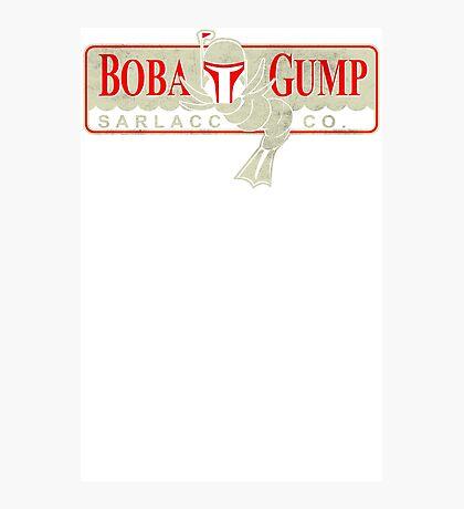 Boba Gump Funny TShirt Epic T-shirt Humor Tees Cool Tee Photographic Print