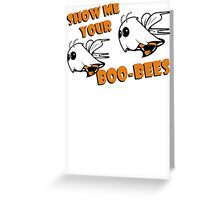 Boo Bees Funny TShirt Epic T-shirt Humor Tees Cool Tee Greeting Card