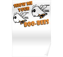 Boo Bees Funny TShirt Epic T-shirt Humor Tees Cool Tee Poster
