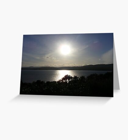 Donegal Sunset Greeting Card