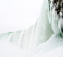 Underneath Frozen Niagara by Angelo Narciso