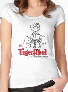 TIGER FIBEL Women's Fitted Scoop T-Shirt