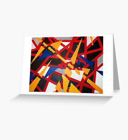 Complicated Puzzle Greeting Card