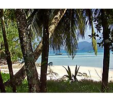 Beach on Seychelles Photographic Print