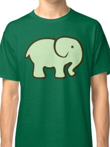 Baby Elephant Drawing Classic T-Shirt