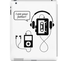 "Funny Walkman ""I Am Your Father"" iPad Case/Skin"