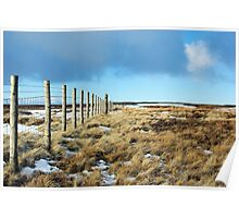 Northumberland Fence Poster