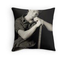 Farmer boy Throw Pillow