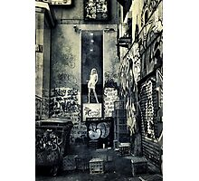 Urban Madonna  Photographic Print