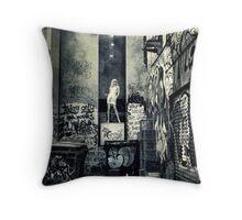 Urban Madonna  Throw Pillow