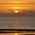 Blackpool Sunset by Chris Monks