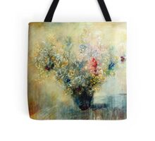 Bunch of flowers in a vase Tote Bag