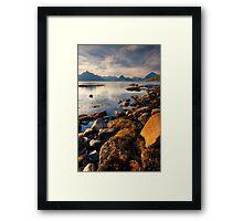 Loch Scavaig, Elgol, Isle of Skye, Scotland. Framed Print