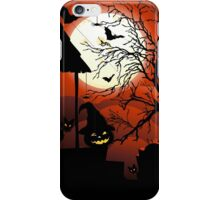 Halloween on Bloody Moonlight Nightmare iPhone Case/Skin
