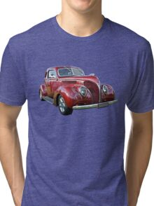Red 1938 Ford Coupe Tri-blend T-Shirt